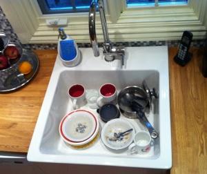 Wanted: Dishwashing fairy.