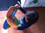 Toddler book love